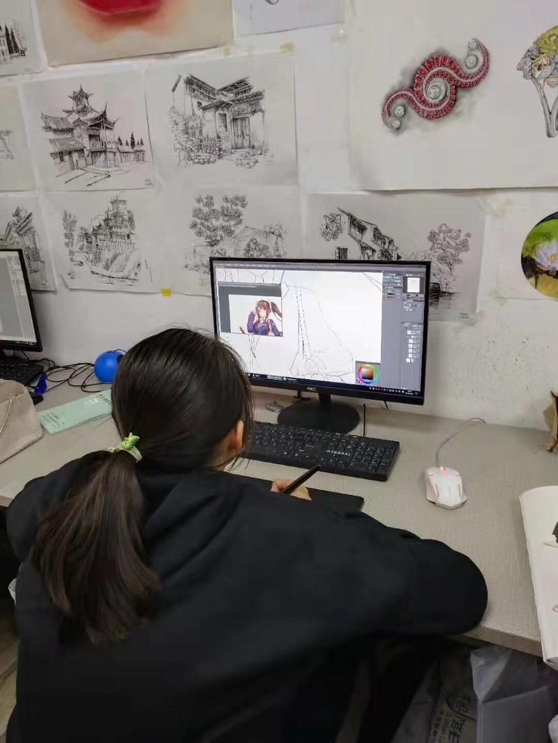 广州暑假美术培训 游戏原画 动漫插画 商业插画培训选名玛雅