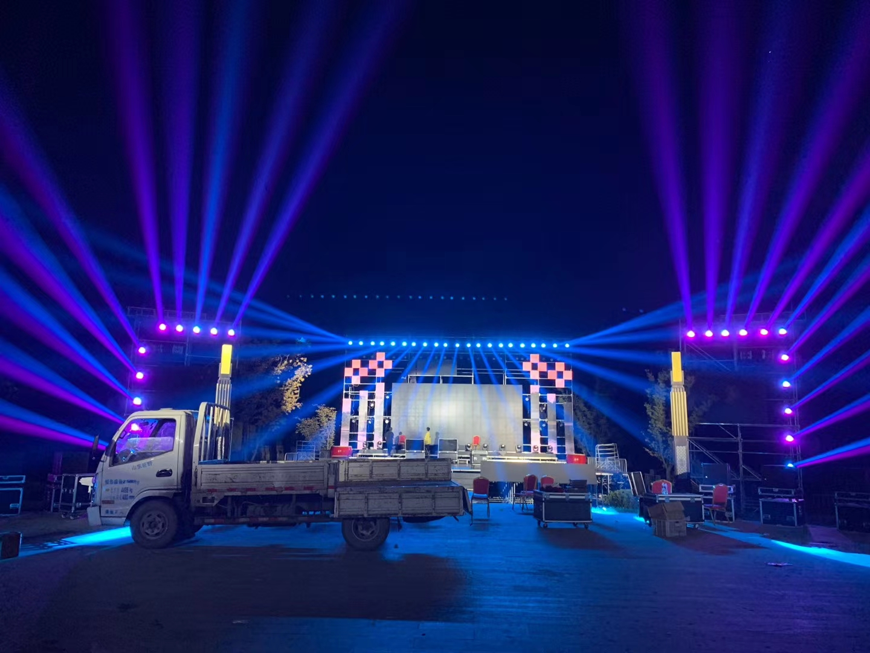 宜春舞台音响租赁公司,舞美灯光设备出租,专业LED大屏彩幕
