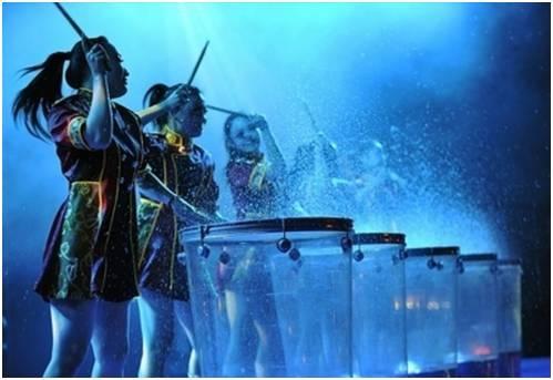 杭州激光水鼓舞丨杭州小提琴丨杭州水鼓舞